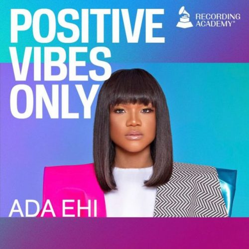 """Ada Ehi In Latest Episode Of GRAMMY.com's """"Positive Vibes Only"""" Series   @adaehimoses"""